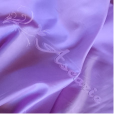 Plain Lilac Polyester Dress Lining