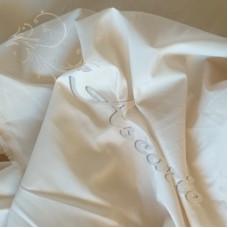 Plain Buttermilk Polyester Dress Lining