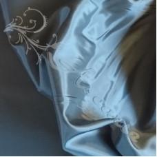 Plain Air force Blue Viscose Dress Lining