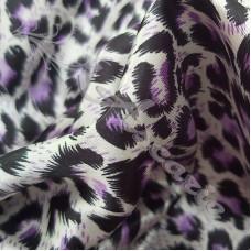- Leopard Purple Dress Fabric