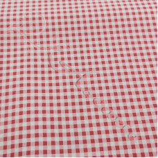 Red Gingham 100% Cotton