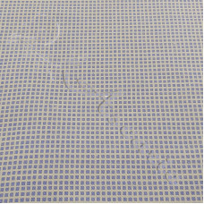 Small Blue Squares on White100% Cotton