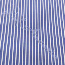 Blue & White Stripe 100% Cotton