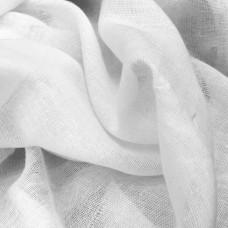 100% Cotton Muslin Fabric White