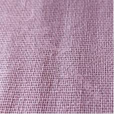 Dusky Pink Linen Mix Fabric