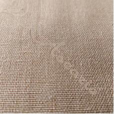 Beige Linen Mix Fabric