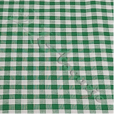 "1/4"" Emerald Gingham Polycotton"
