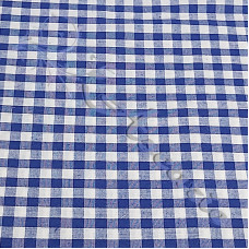"1/4"" Royal Gingham Polycotton"