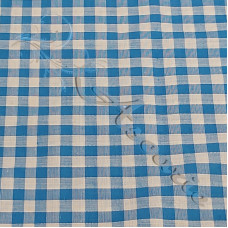 "1/4"" Kingfisher Gingham Polycotton"