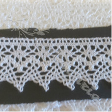 3cm White Guipure Lace Triming