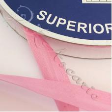 12mm Pink Cotton Bias Binding