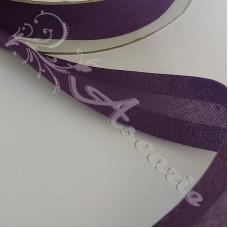 25mm Purple Cotton Bias Binding