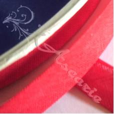 12mm Red Cotton Bias Binding
