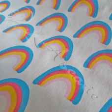 Rainbow  Polycotton