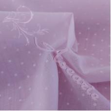 Pin Spot Lilac Coloured Polycotton