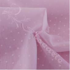 Pin Spot Pale Pink Coloured Polycotton