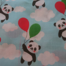 Balloon & Panda 2 pieces .88cm PolyCotton