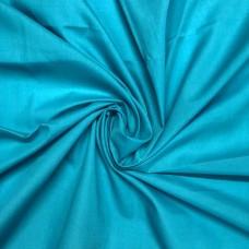 Turquoise Blue PolyCotton