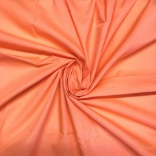 Coral Orange PolyCotton